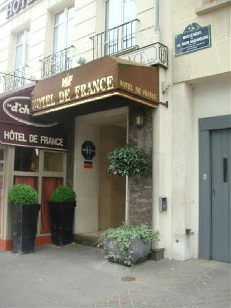 Hotel de France Invalides: Front Entrance