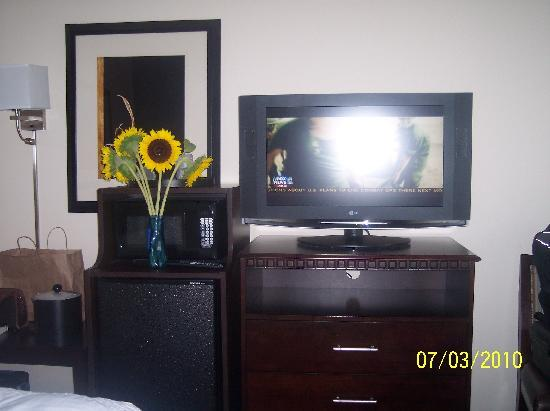 Hampton Inn & Suites Smithfield : tv