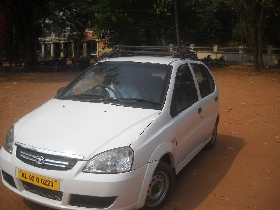 Cochin, Inde : his taxi