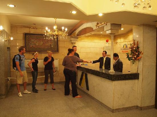 Mayorca Hotel: Reception