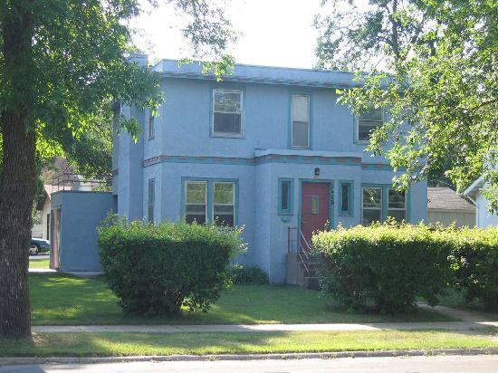 Bob Dylan;s boyhood home in Hibbing, Minn.