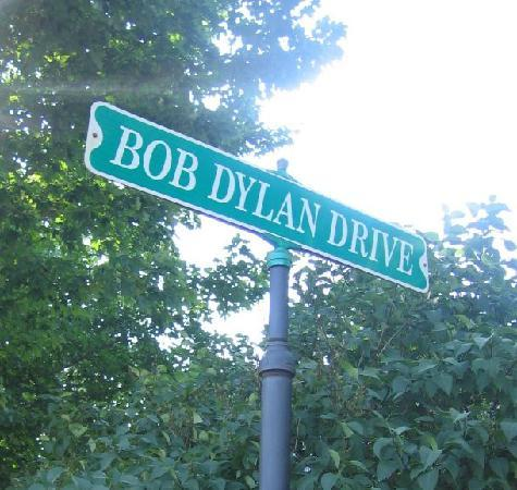 Hibbing, MN: Street sign on the corner