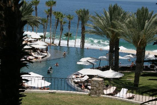 Hilton Los Cabos Beach & Golf Resort: View from our balcony