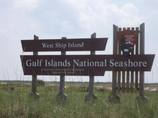 Gulfport, MS: The welcome sign