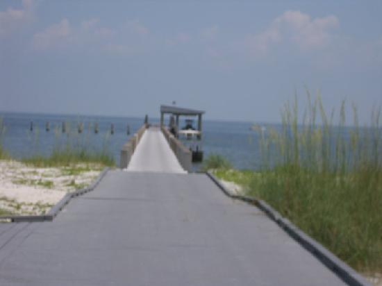 Gulfport, MS: The walkway