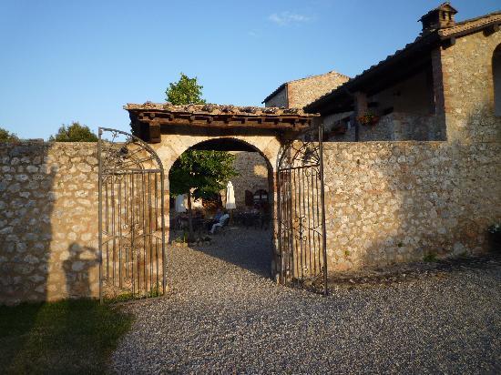 Borgo Gallinaio: Eingang