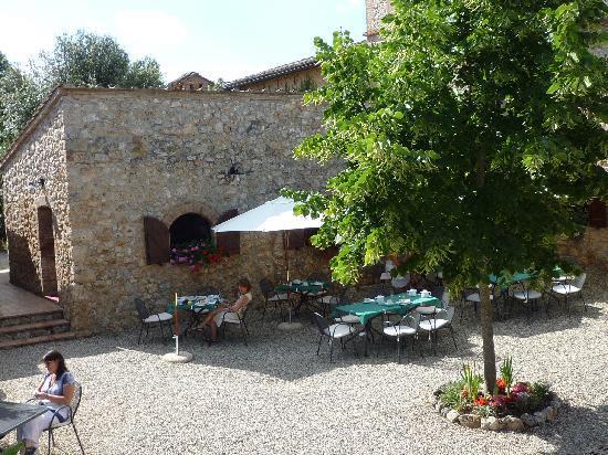 Borgo Gallinaio: Innenhof