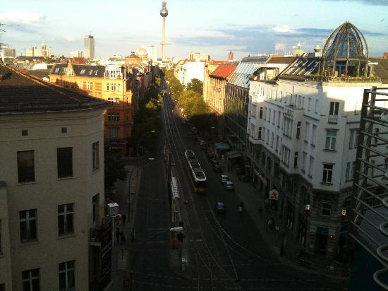 TopDomizil Apartments Panorama Friedrichstrasse: View from bedroom window