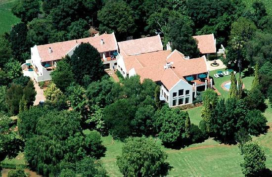 Budmarsh Country Lodge: A bird's eye view of the  lodge