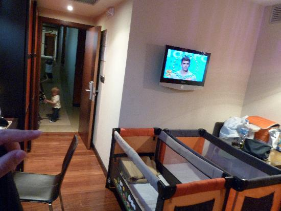 Royal Nayef Hotel: La zona de estar