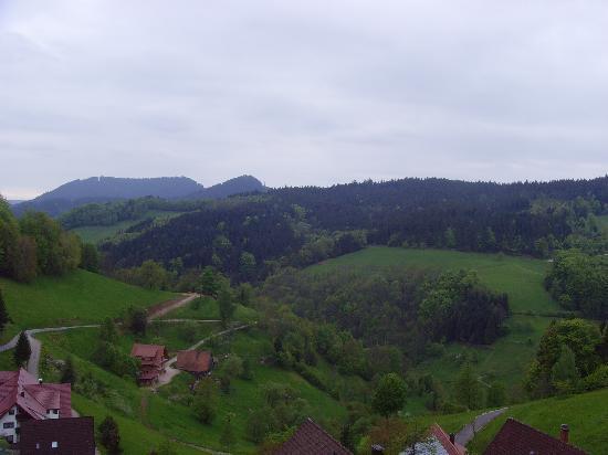 Hotel Dollenberg: Ausblick aus dem Balkon