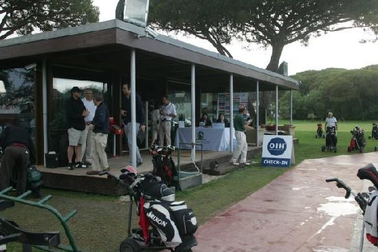 Golf Quinta da Marinha : Check in no Club House