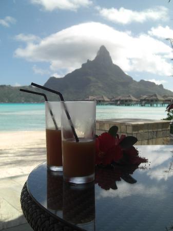InterContinental Bora Bora Resort & Thalasso Spa: Bienvenue