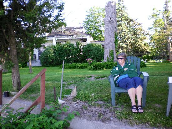 Cobourg, Canada: Enjoying the Beautiful morning!