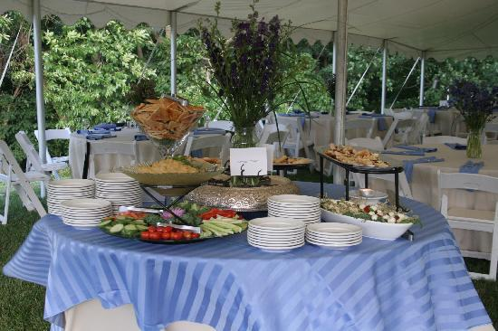 Nesselrod Bed and Breakfast: caterer's food 2