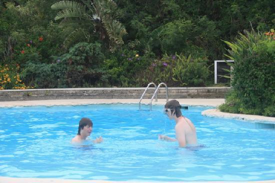 Grotto Bay Beach Resort: Two in the pool...