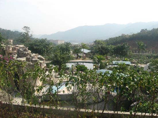 Chundu Hotspring Resort: view
