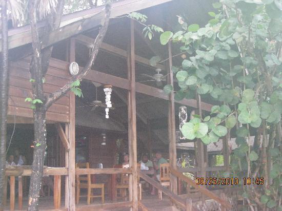 Half Moon Resort: Restaurant with great views!
