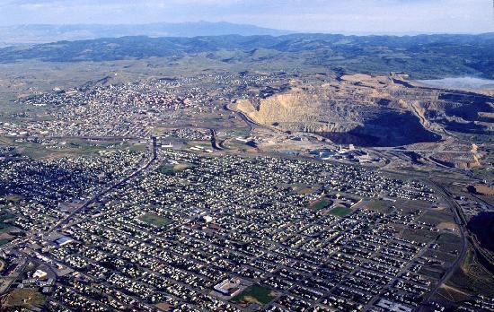Butte, Montana: Uptown Butte