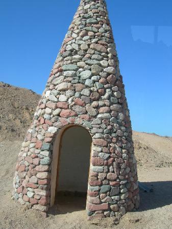 Posto di guardia all'ingresso del Parco Ras Mohammed