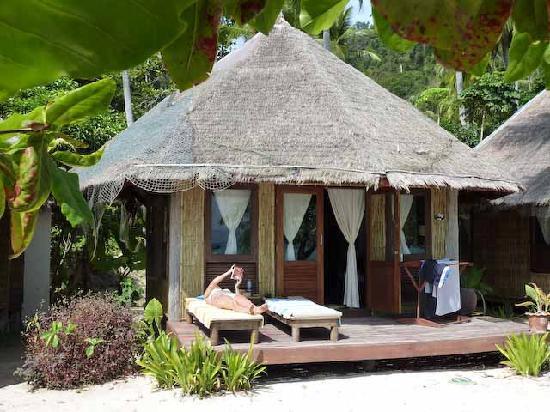 Thapwarin Resort : Bungalow außen