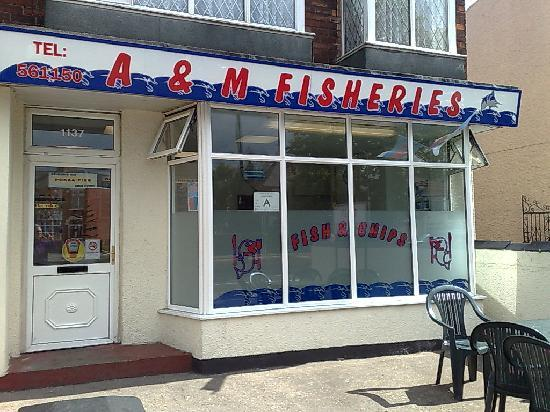 A & M Fisheries, Hessle Road Hull - Picture of A & M
