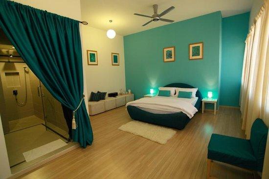 Chymes Penang: Aquamarine room