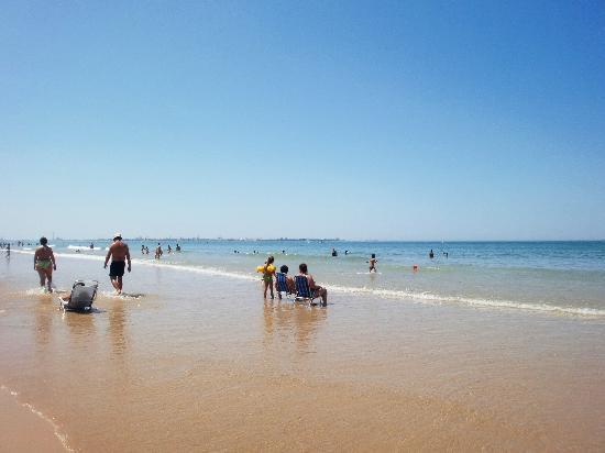 El Puerto de Santa Maria, Spanyol: playa del puerto de santa maría