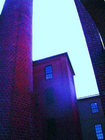 Cork Factory Hotel: Looking up from the front door