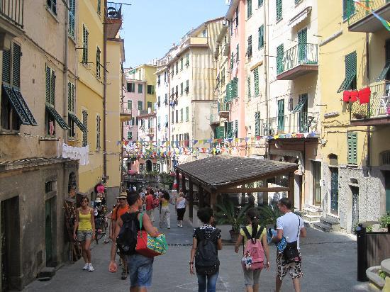 Riomaggiore, Italia: the town