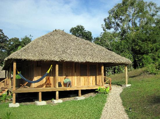 La Milpa Field Station: One of the guest cabanas