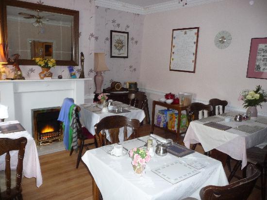 Roxburgh Guest House: Breakfast room