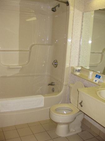Comfort Inn Swift Current: large bathroom
