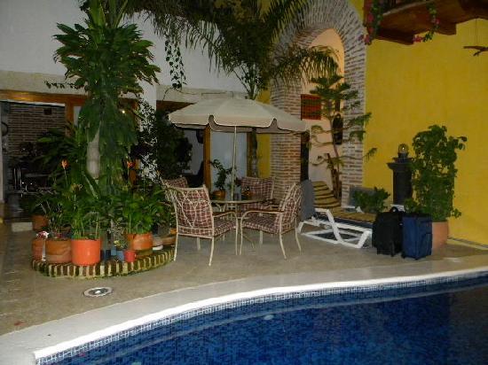 Hotel Casa Gloria: Genial el área de la piscina