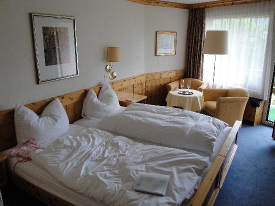 Alpenhotel Quadratscha: La chambre