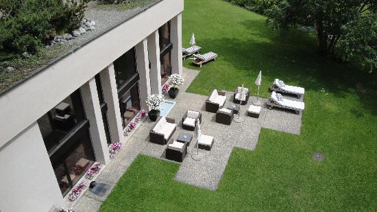 كوادراتشا هوتل: jardin