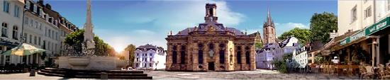 Saarbrücken, Deutschland: la mitica piazza delle sagre....