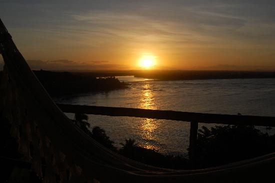 Pousada Mangabeiras : Sunset seen from our room