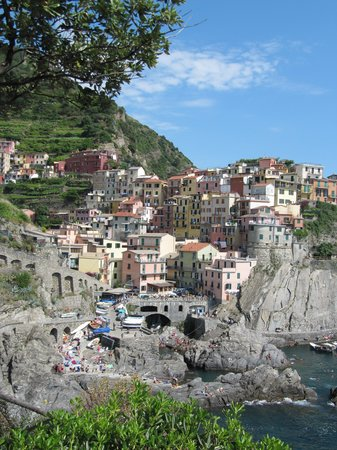 La Torretta: View of Manarola