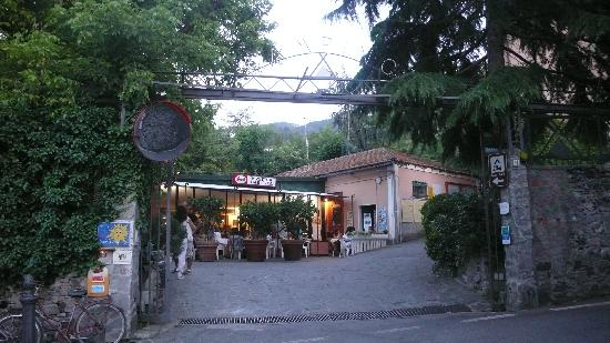 Camping Acqua Dolce : Entrance of Acqua Dolce camping