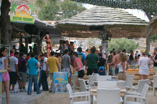 Paradise Beach Resort and Camping: Party on the beach