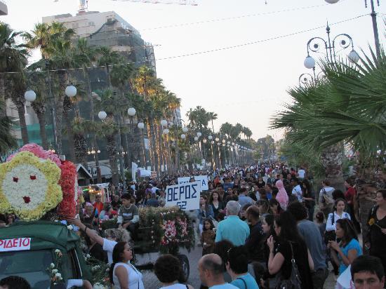 Larnaka City, Cyprus: The Phinikoudes promenade