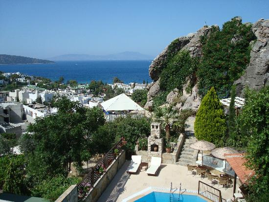 Aegean Gate Hotel: Amazing view from our Balcony