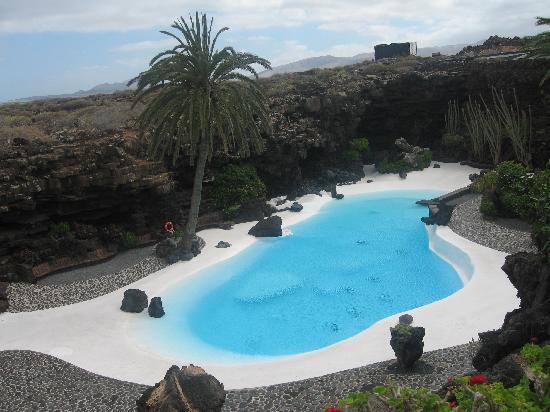 Lanzarote, Spain: Cave garden