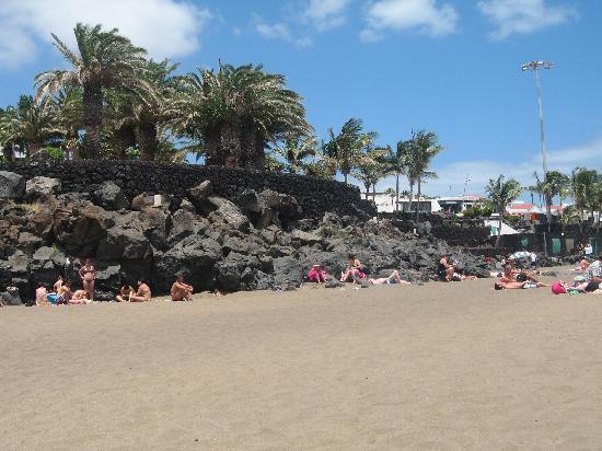 Lanzarote, Spain: The beach
