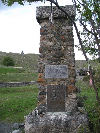 Old Chief Joseph's grave, Joseph