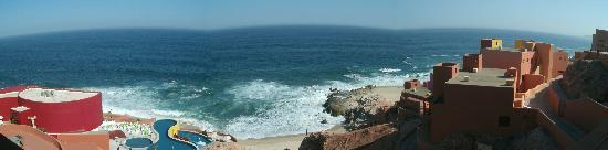 Club Regina Los Cabos: panoramic pic of the resort and view