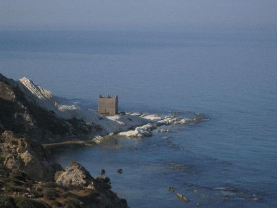 Villa dell'Imperatore: Punta Bianca
