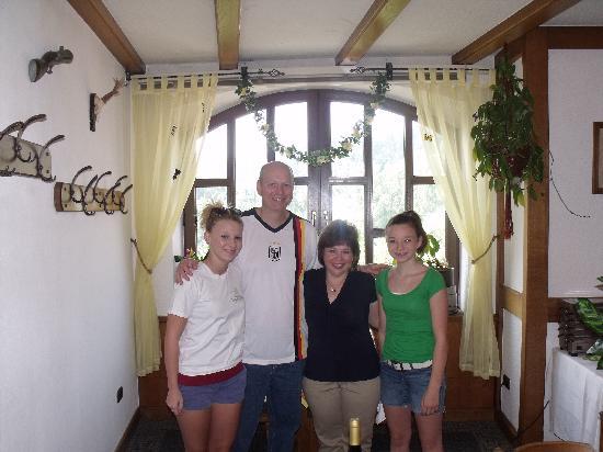Our family at Landhaus Biehl