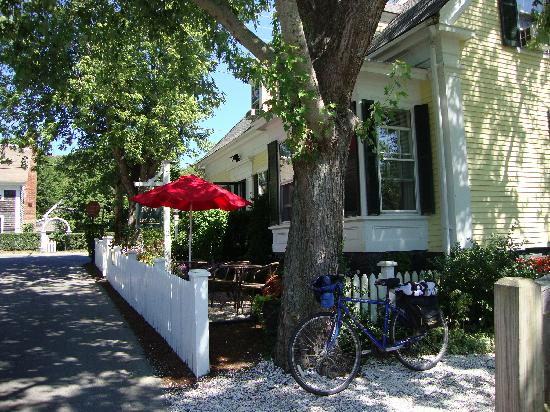 The Inn at Cook Street: Getting ready for a bike ride on a splendid day at Inn At Cook Street